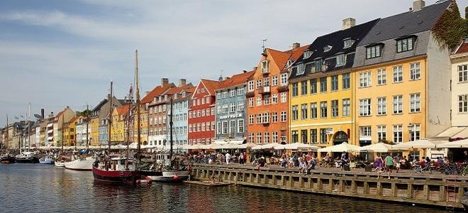 Нюхавн, Nyhavn - Копенгаген
