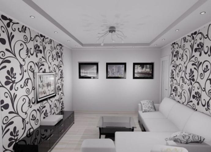обои черно белые фото для спальни