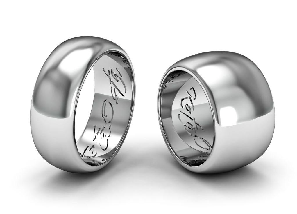 кольца из платины обручальные фото