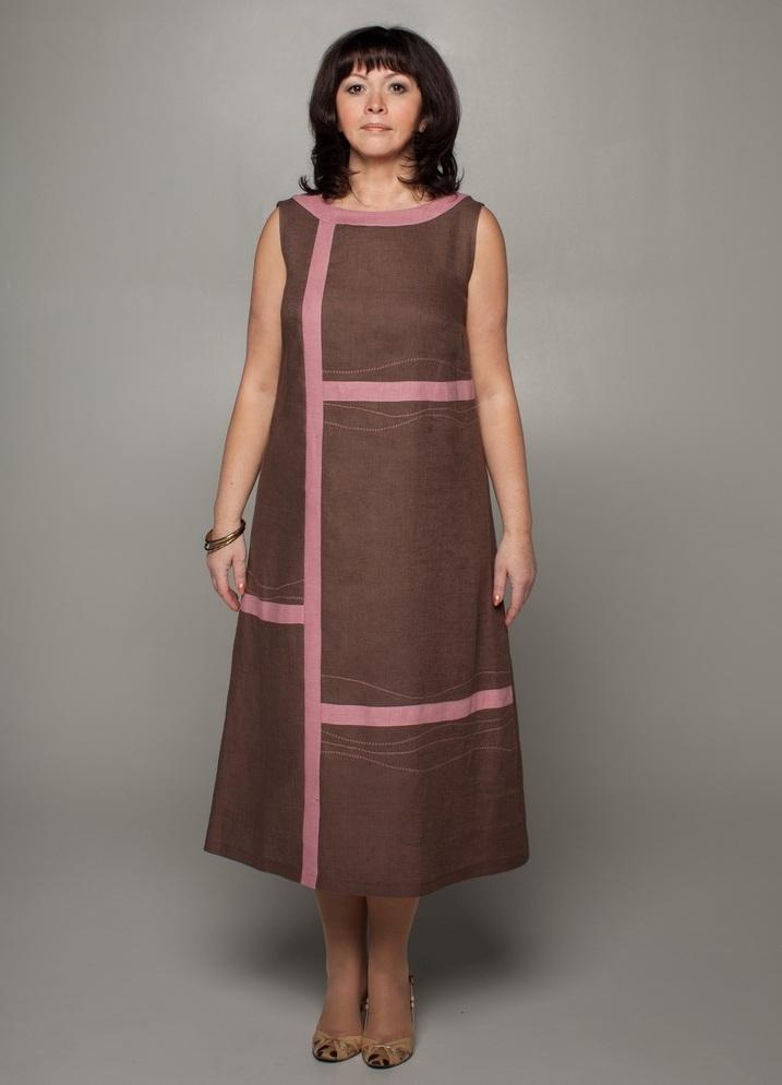 d5abbcb0751 ... одежда из льна для полных женщин2 ...