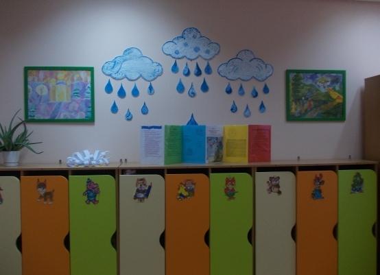 Оформление приемной комнаты для детского сада своими руками 905