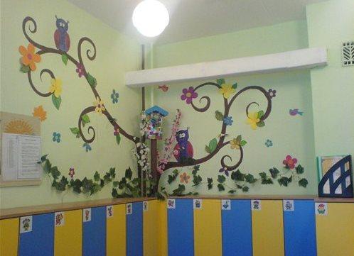 Оформление приемной комнаты для детского сада своими руками 144