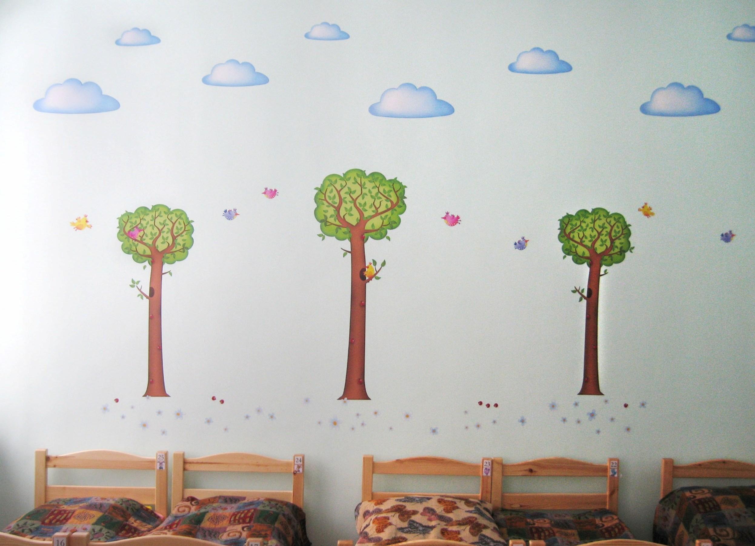 Картинки для детского сада оформление спальни