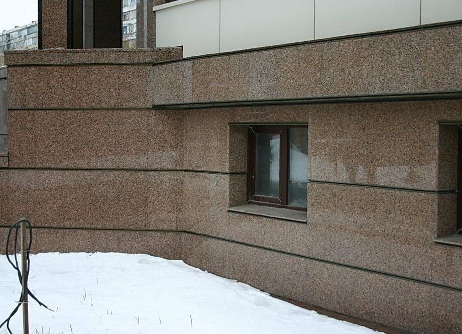 новости сообщает, фото домов с отделкой вентилируемого фасада камнем нужно