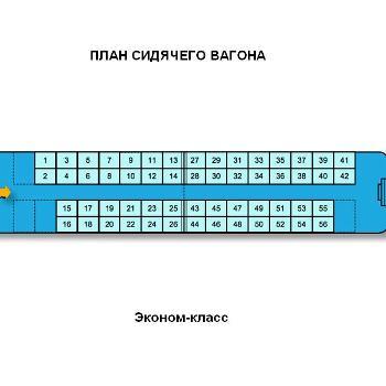 Сидячие места в поезде ржд схема фото 568
