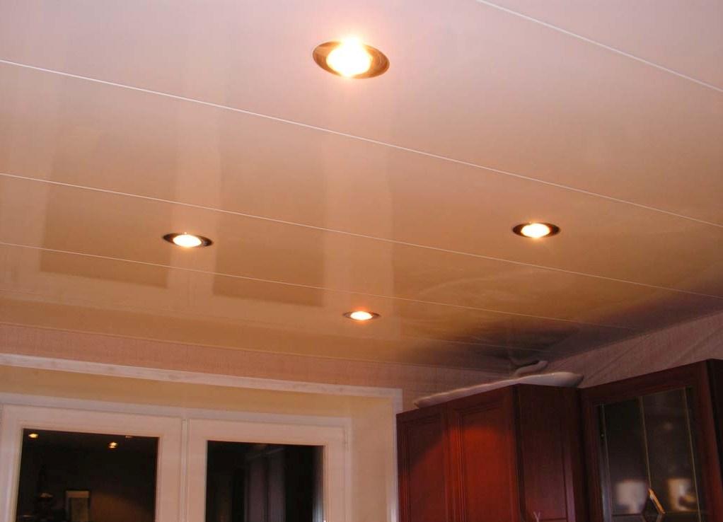 пластиковые панели на кухне потолок фото поэтапно позволит только