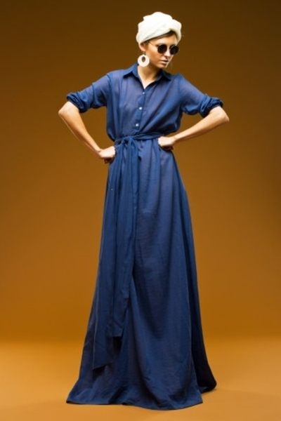 3b6822787b8 Платье-рубашка в пол 1 ...