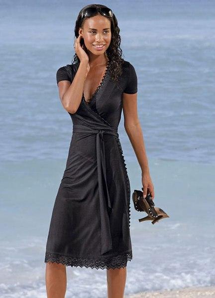 ec959a9dffab0e8 платье с эффектом запаха 1 ...