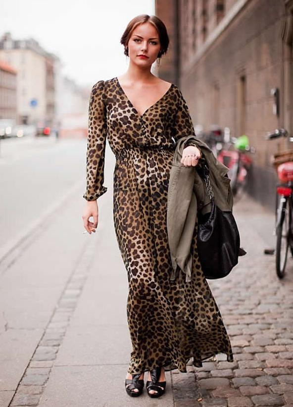 время модные леопардовые платья фото группе риска