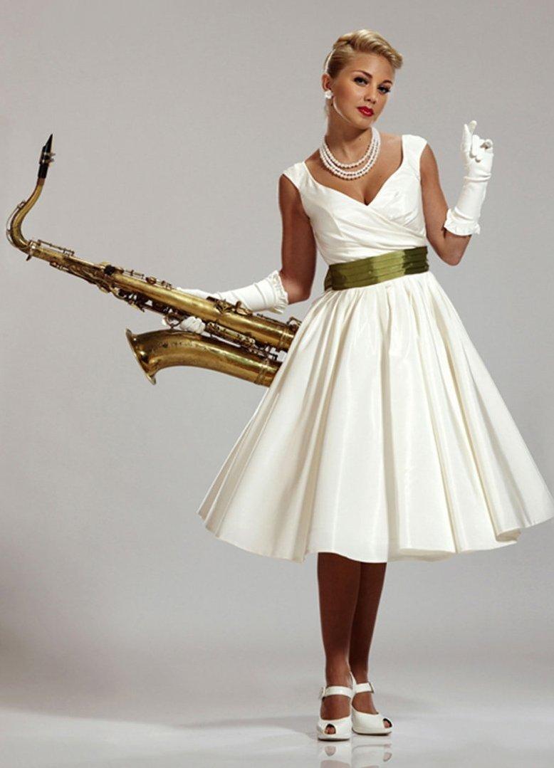 Платья в стиле стиляг с выкройками фото 578