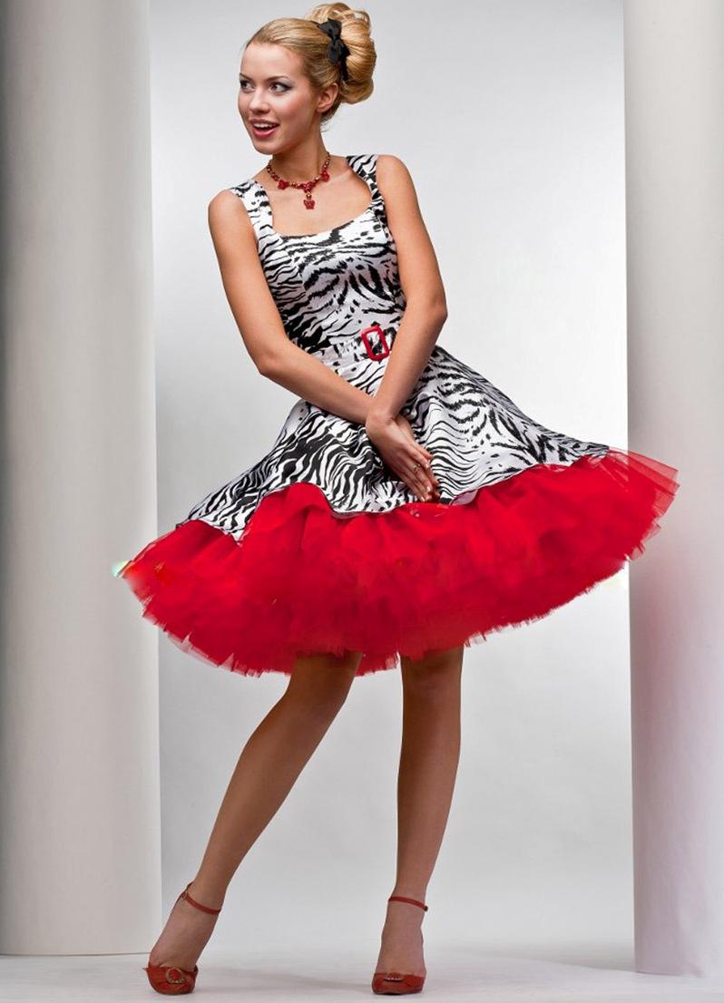 Платья в стиле стиляг с выкройками фото 619