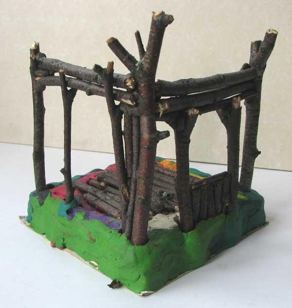 Поделки для дома из дерева и веток 8