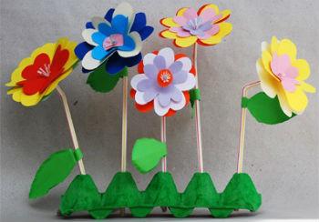 Детские поделки своими руками на тему весна фото