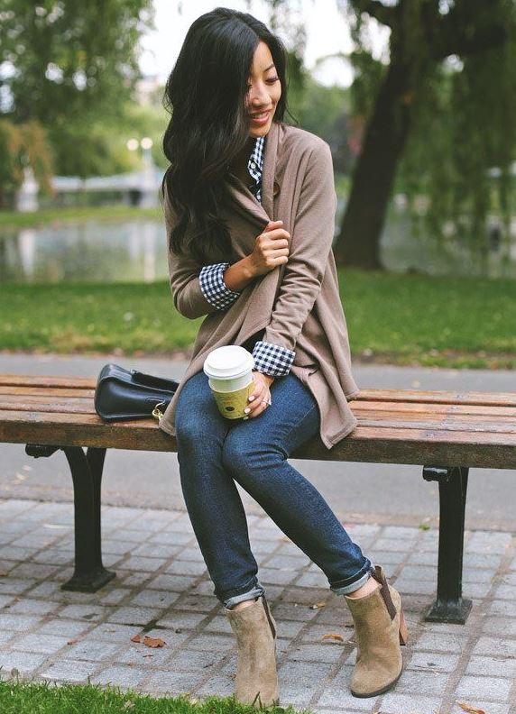 Как сделать подвороты на джинсах девушке если они широкие 194
