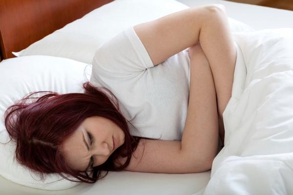 Пря занятии сексом щипит
