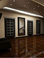 Потолки в коридоре – дизайн