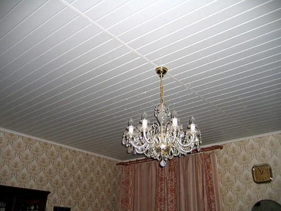 потолки фото из пластика