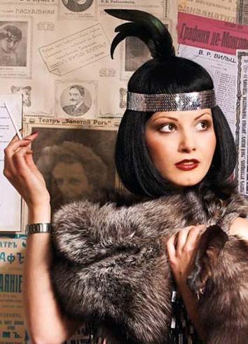 стиль 30 х годов в одежде женщины фото