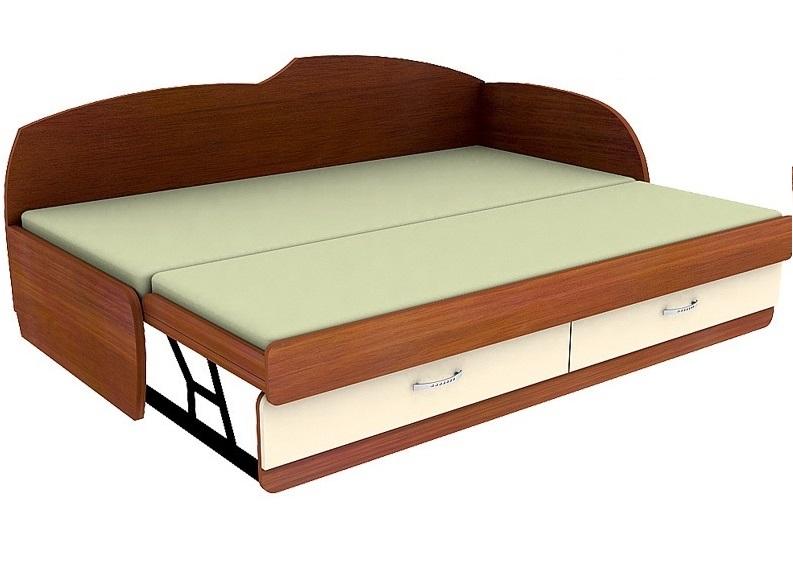 Кровать с выдвижным спальным