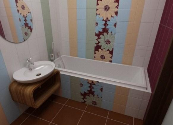 Ремонт ванной комнаты в хрущевке своими руками фото из панелей