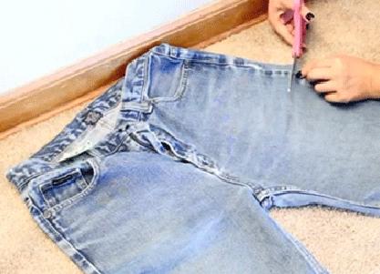Джинсовые шорты своими руками фото 64