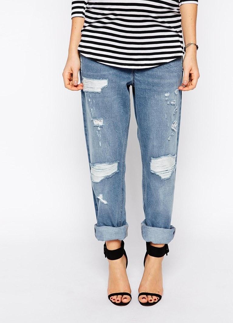 рваные джинсы для беременных1 ... ad6ae7fcac5