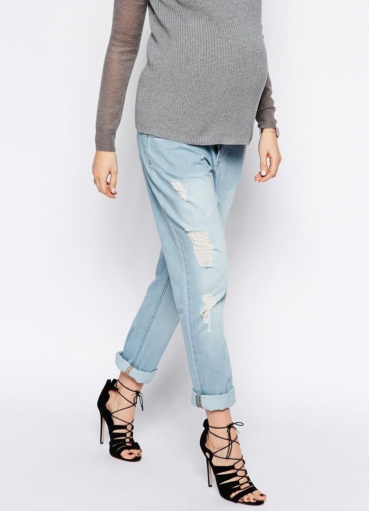 рваные джинсы для беременных1, рваные джинсы для беременных2, рваные джинсы  для беременных3 85eaae0424e