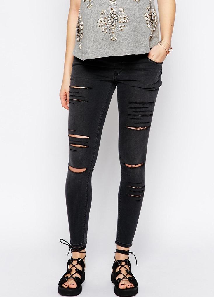 ... рваные джинсы для беременных9 bdc9892201b