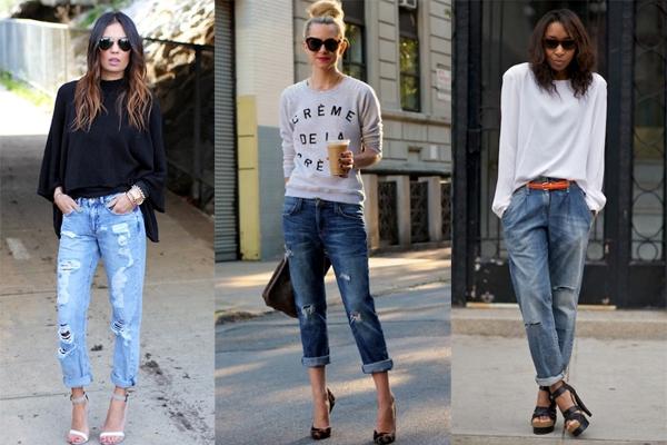 Что носят с джинсами бойфренд 4