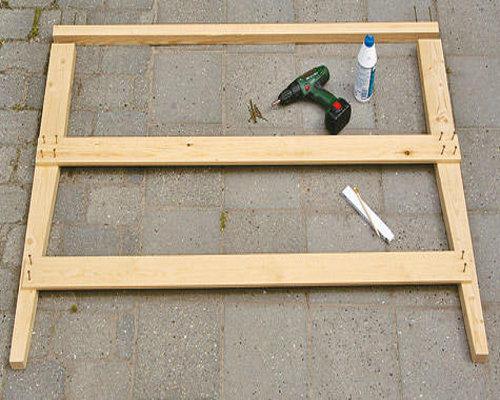 Как сделать садовую мебель своими руками фото 372