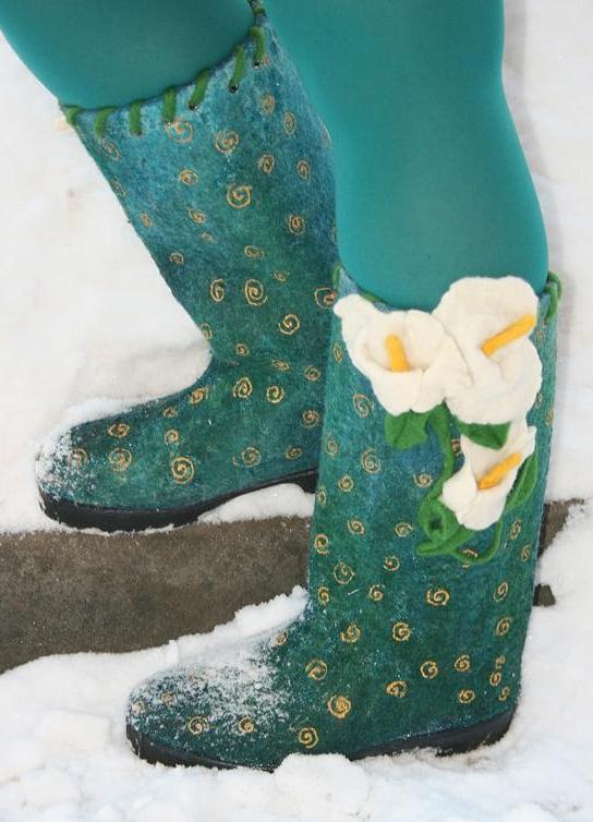 ee1493b7b4de ... самая теплая женская зимняя обувь 9