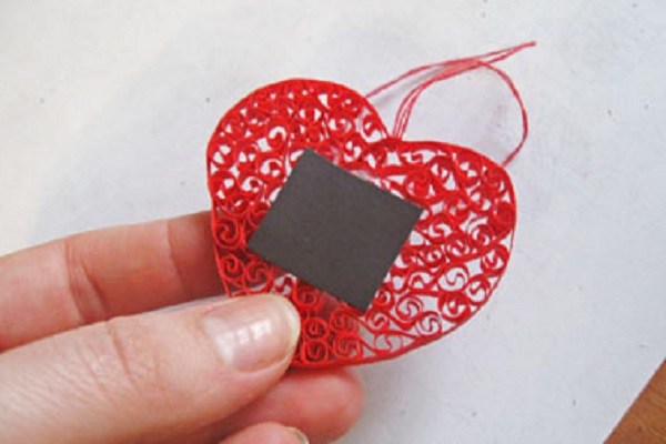 Картинки, магнит открытка валентинка мастер класс