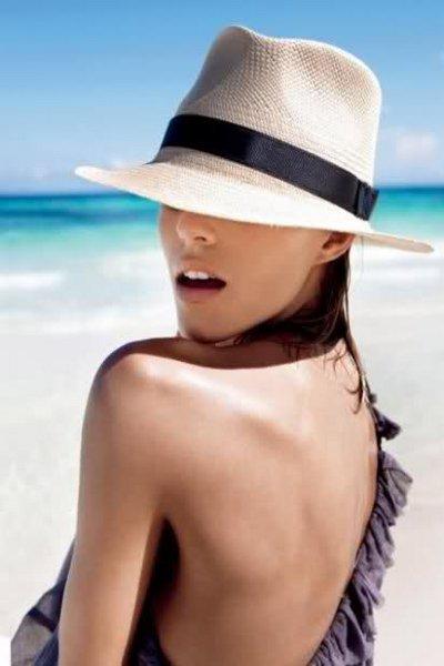 женские пляжные шляпы 1 ... 46657024efb