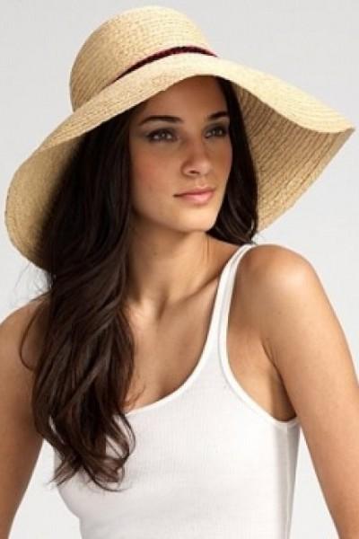 женские пляжные шляпы 7 ... ad9e7325f34