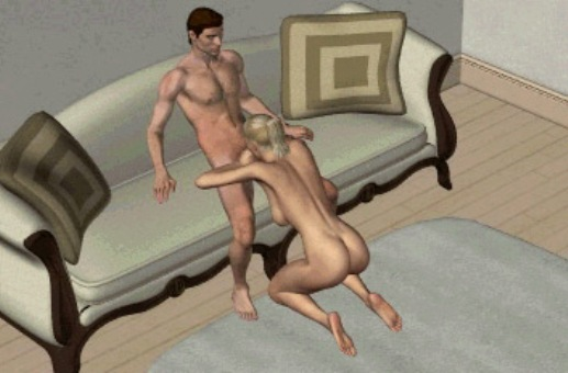 Аральный секс позы