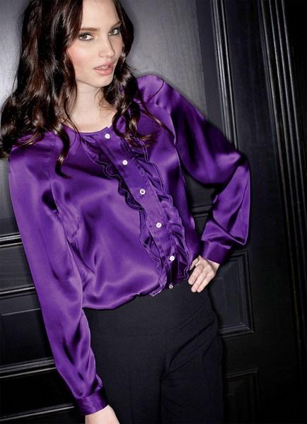 b0bbe7e36c2 Сиреневая блузка