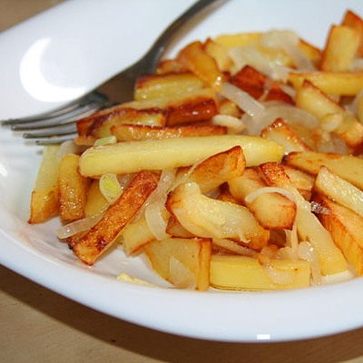 Жареный картофель содержание полезных веществ, польза и вред, свойства