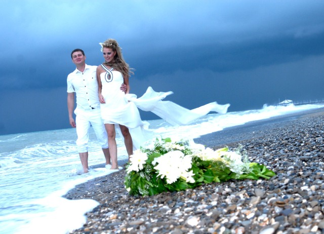 фотографии на пляже идеи