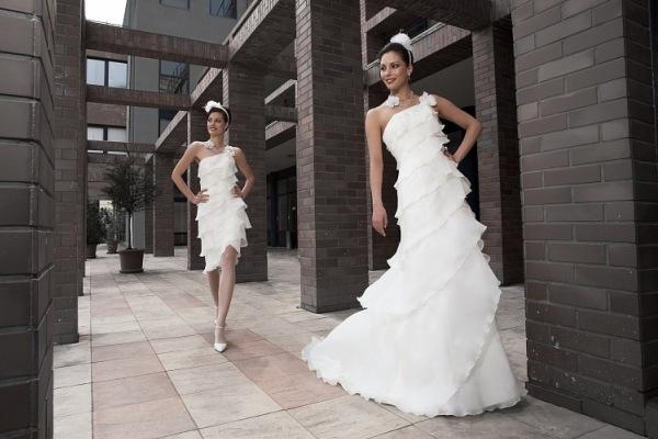 c5c35d047c93f7 свадебное платье трансформер с отстегивающейся юбкой