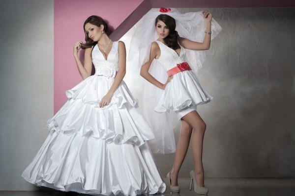 a55a958fa5f98e свадебное платье трансформер с отстегивающейся юбкой1 ...