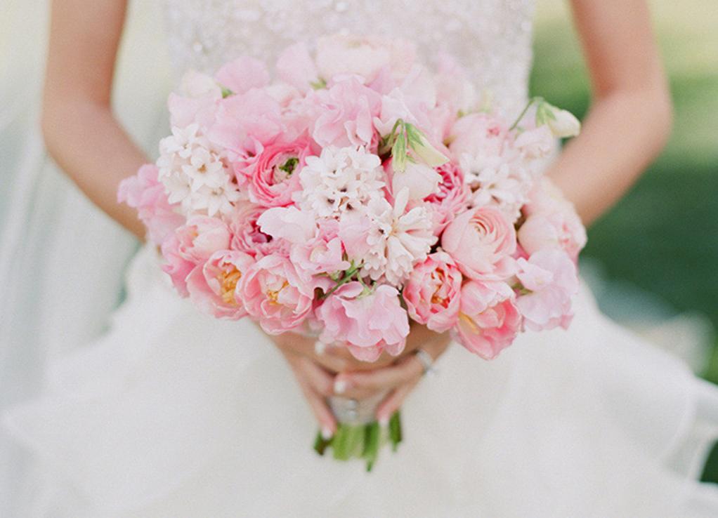Хризантема, лучшие свадебные букеты 2015