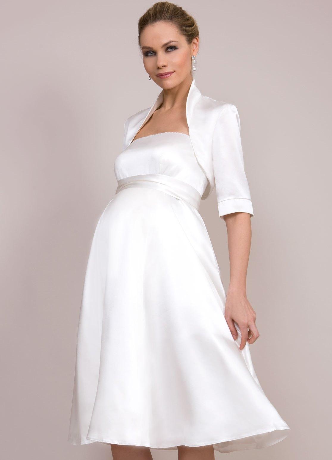 Свадебные платья для беременных на 5 месяце 8f4337359b1