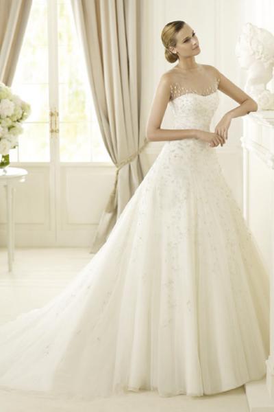 feaccab0989 Свадебные платья Pronovias