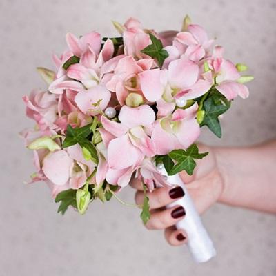 Свадебные букеты каскадом для невесты — img 5