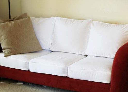 Обновляем диван: как сшить чехлы на диванные подушки 87