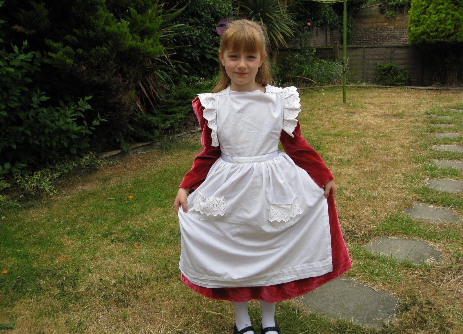 Как сшить фартук для школьного платья фото 562