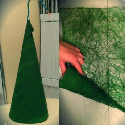 Как сделать елку из сизаля 862