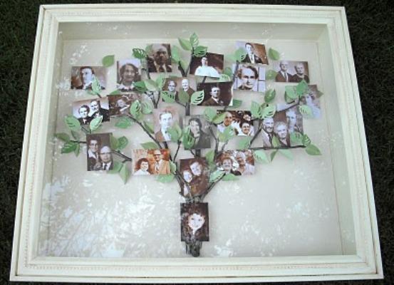 Семейное дерево своими руками фото фото 146
