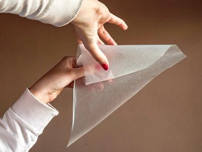 Как сделать кондитерский мешочек