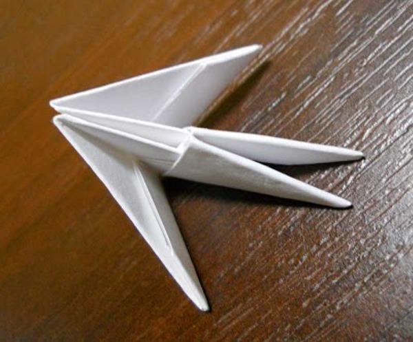 Оригами из бумаги лебедь схема сборки фото 140